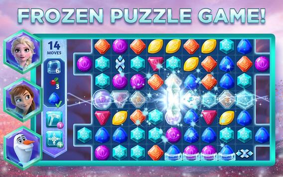 Disney Frozen Adventures A New Match 3 Game for Android