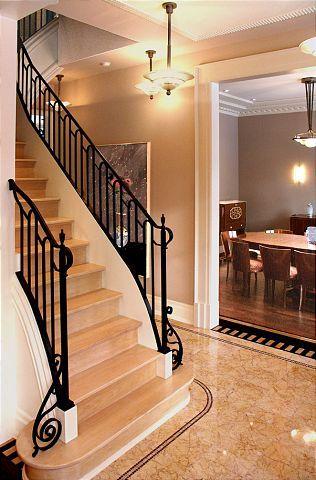 Best Stair Rail Bottom Swirl Rachel House House Design 640 x 480