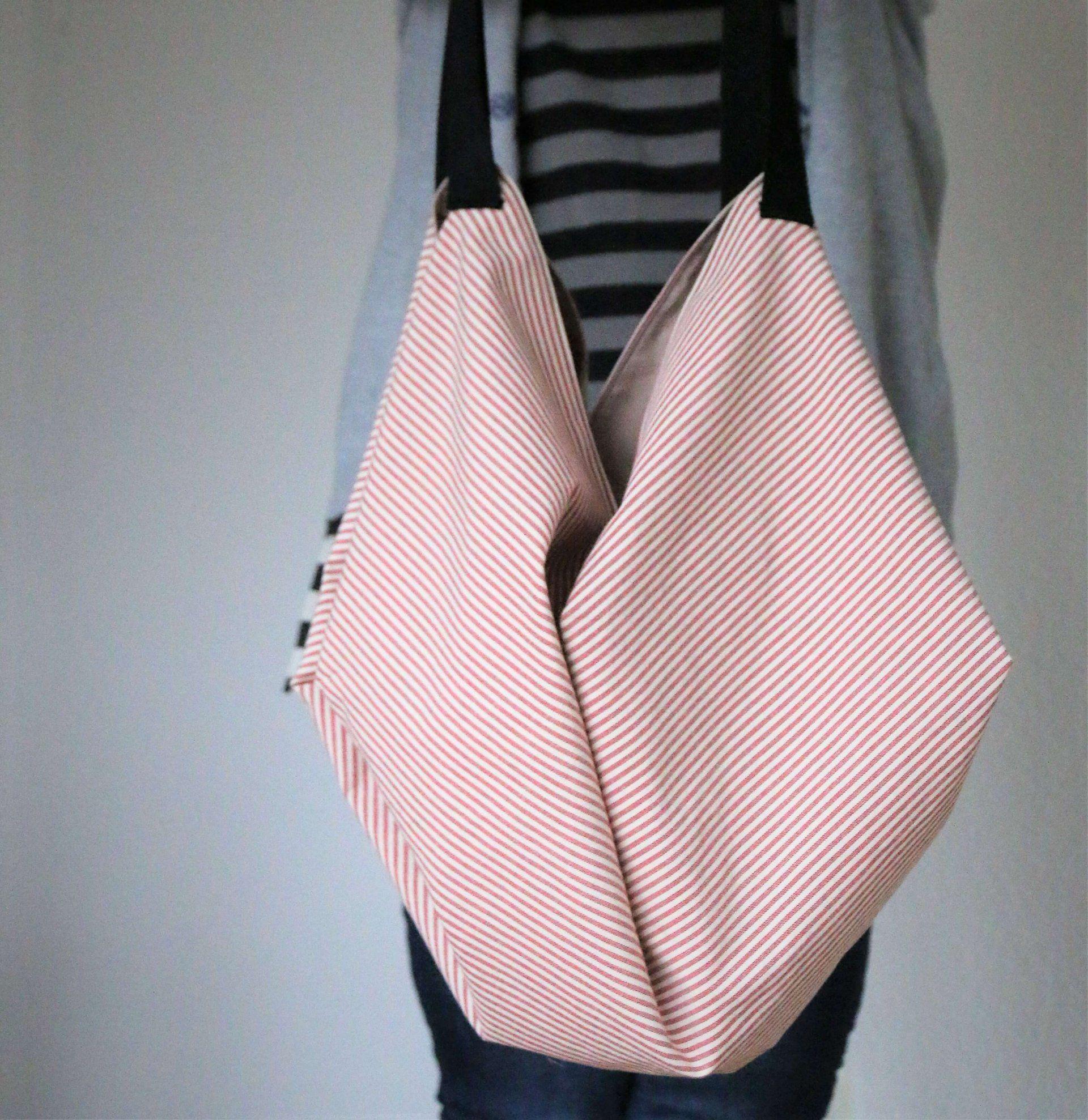 ᐅ Japanische Tasche nähen – Mit dieser Anleitung ganz einfach! – Bolsa de moda