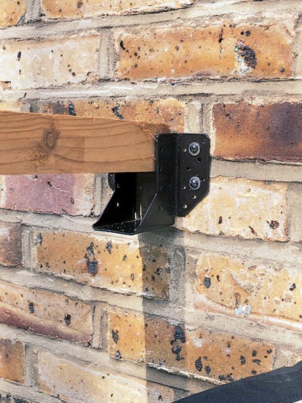 How to build a pergola p rgola pinterest for Cobertizo de jardin de techo plano de pvc