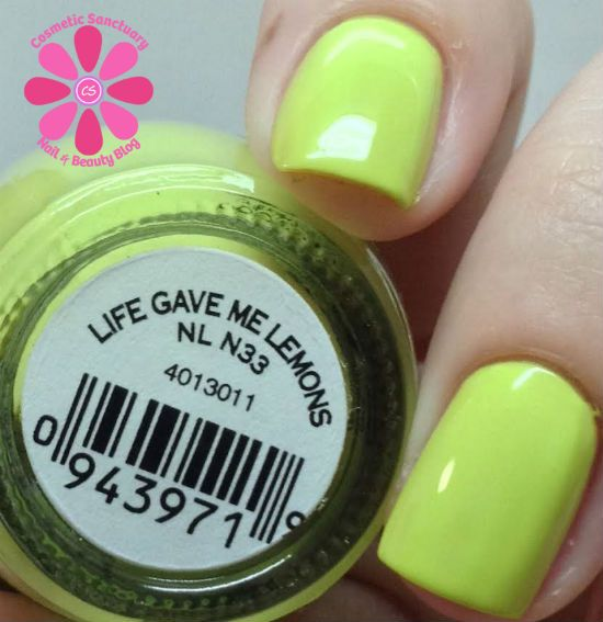 OPI Neons Collection Summer 2014 Swatches & Review
