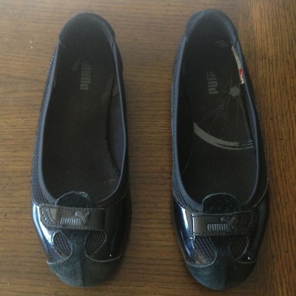 00cada3a27 PUMA FLATS PUMA Zandy Patent Wn's - Women's Shoes : Black : A sleek and  stylish ballet flat for the sporty and spunky woman. ; Smooth and shiny  patent upper ...