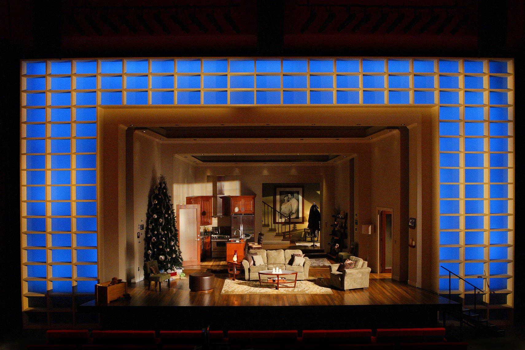 Dollhouse. Guthrie Theater. Scenic design by Alexander Dodge. Lighting by Josh Epstein.