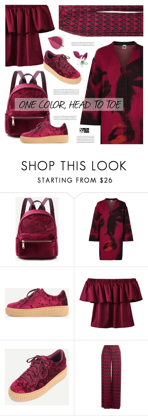 """One Color, Head to Toe"" by defivirda ❤ liked on Polyvore featuring M Missoni and Diane Von Furstenberg"