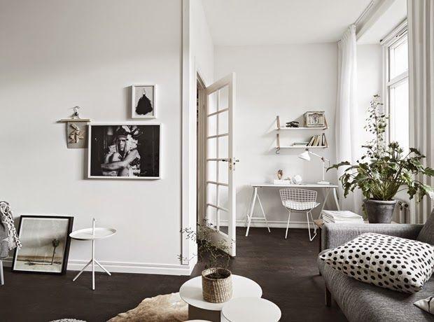 Tiny and cozy scandinavian apartment design attractor