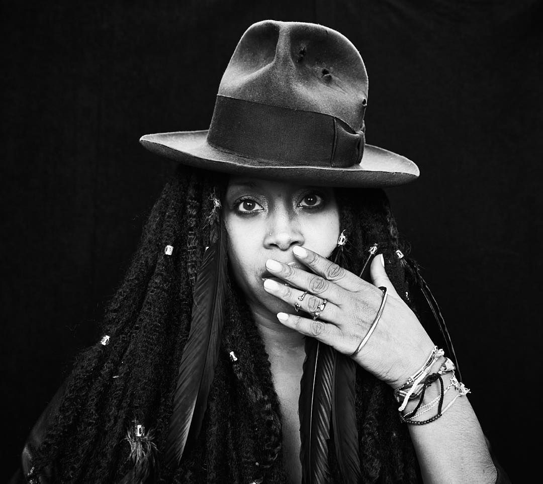 @erykahbadu closing down @thewebbyawards with a tribute to @prince  = the best thing ever // : @hartleyphoto by nylonmag