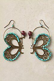 Farfalla earrings. It is a butterfly!!