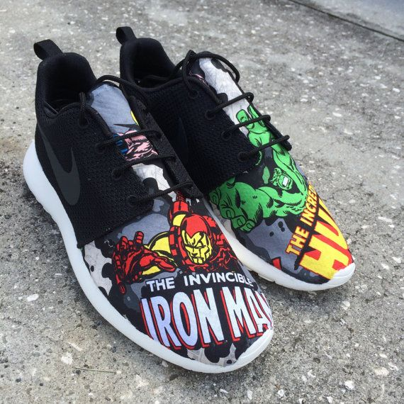 Marvel super heroes MIX & MATCH Nike Roshe Runs by EpicGymTime