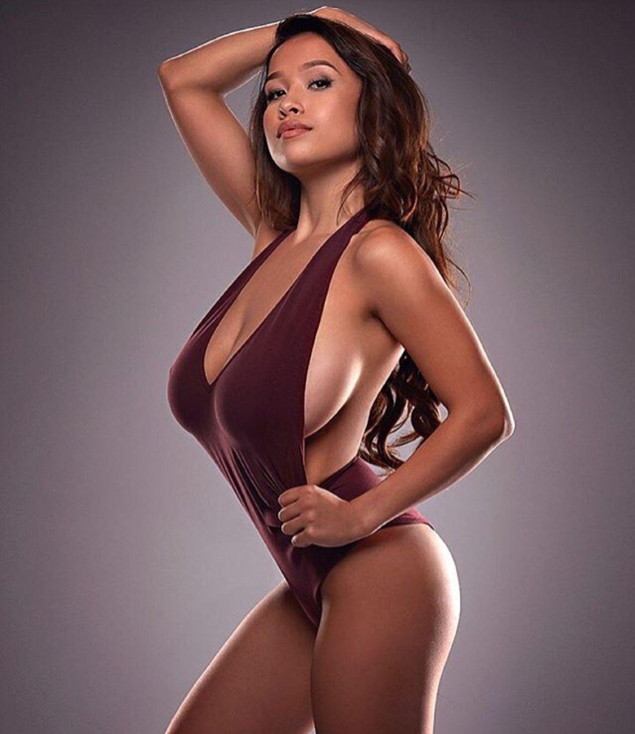 Beautiful white woman interracial