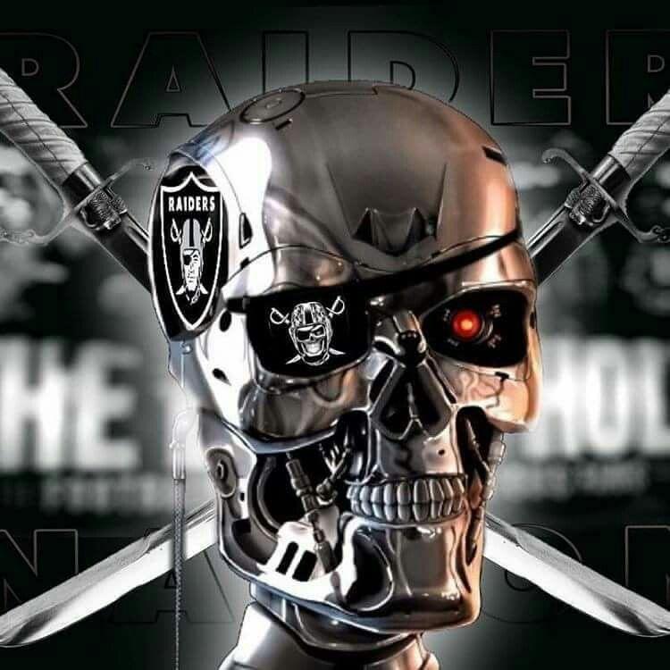 Nice Raider Skull It Looks Like Termanater Sports
