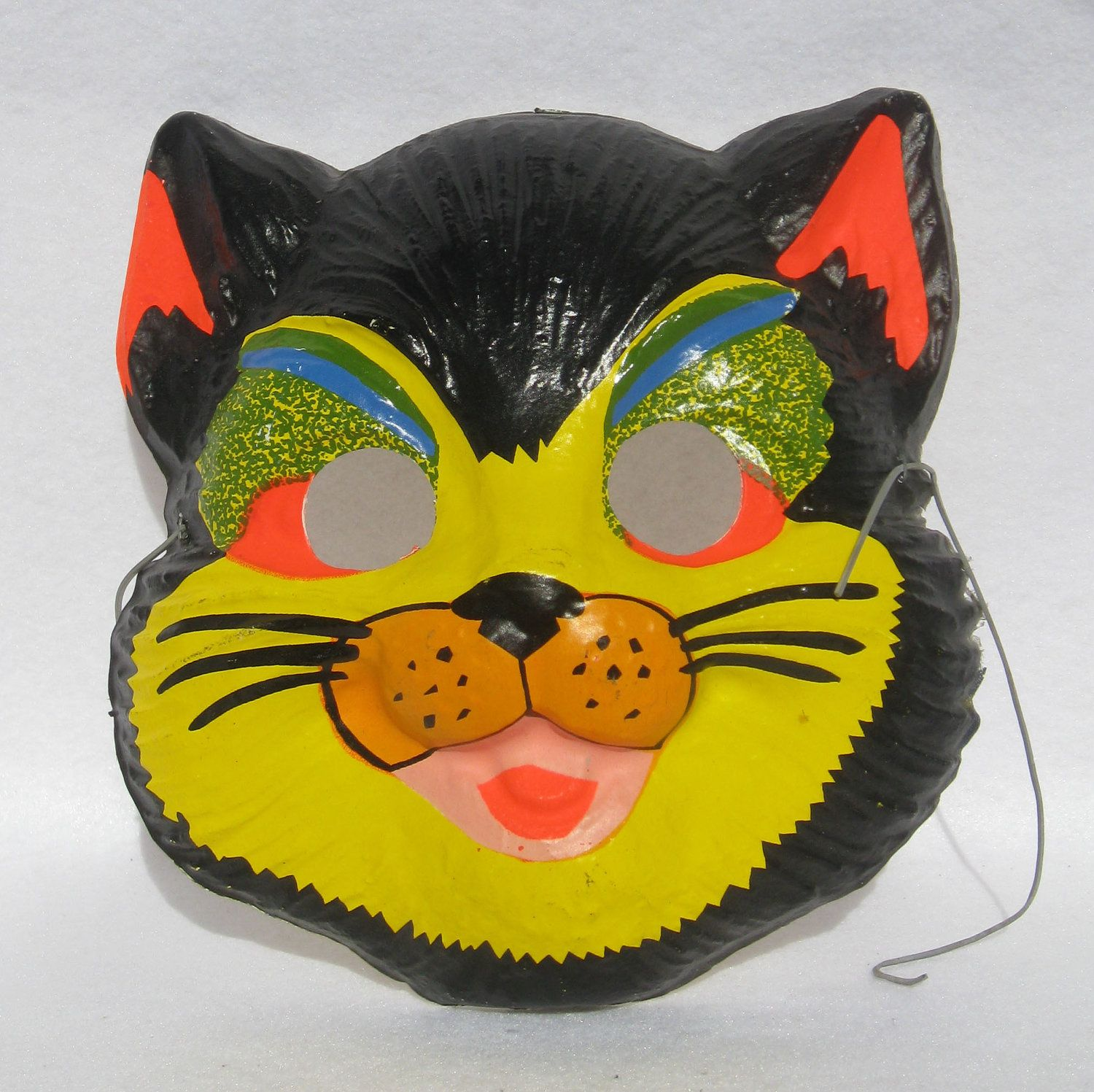 Vintage Halloween Cat Mask that were given away when you bought 2 ...