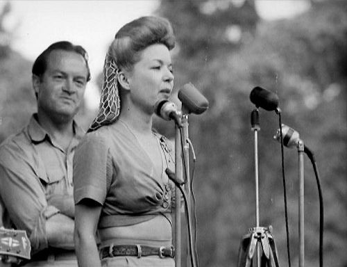 Image result for photos of frances langford with bob hope