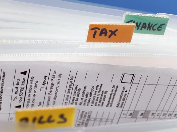 How to Clear Paper Clutter : Important Documents