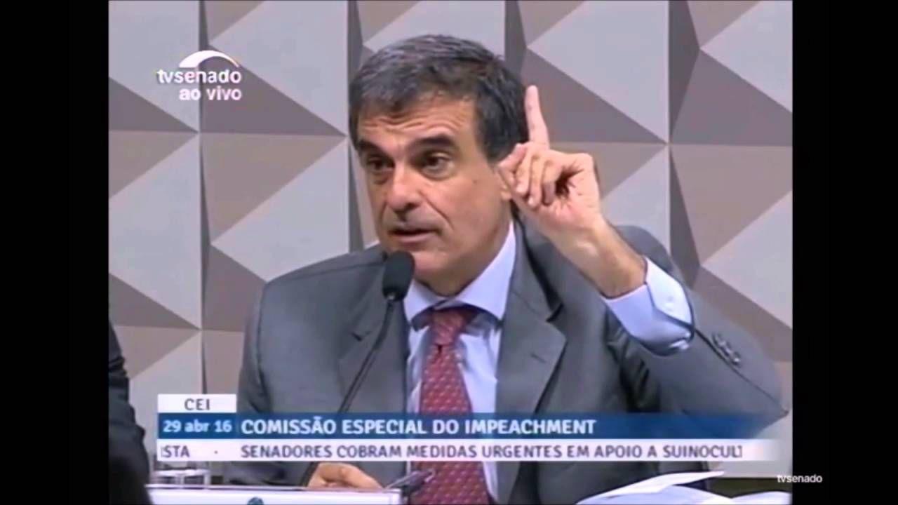 Ministro Cardozo dá aula de Direito ao senador Caiado durante comissão d...