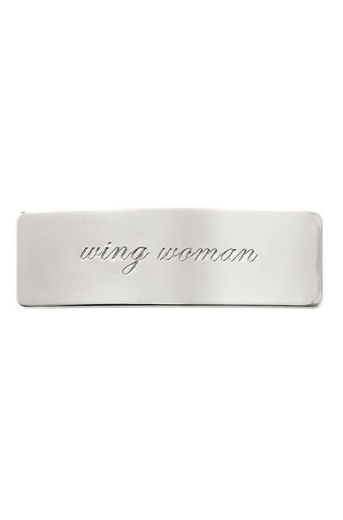 Wing Woman, silver - $19