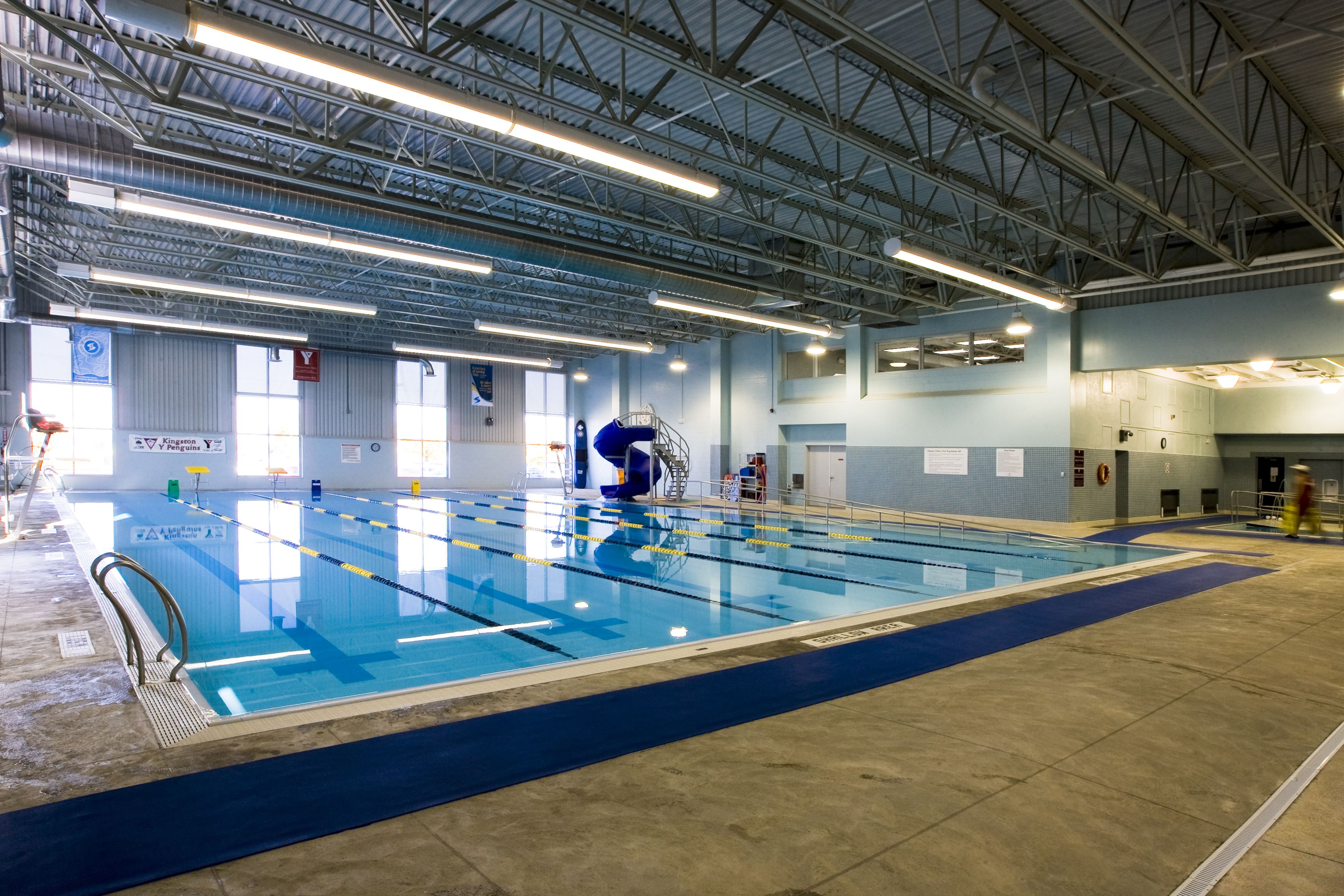 YMCA Kingston pool renovation | Commercial Swimming Pool Installs ...
