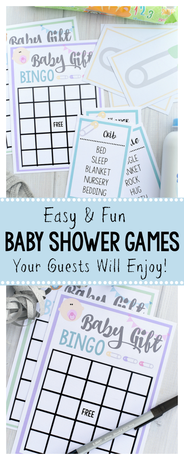 Free printable baby shower games for large groups pinterest baby fun and free printable baby shower games great for large groups solutioingenieria Gallery
