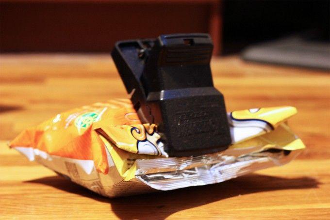 Cómo Cerrar Una Bolsa De Patatas Chips Bolsas De Patatas Patatas Chips Patatas