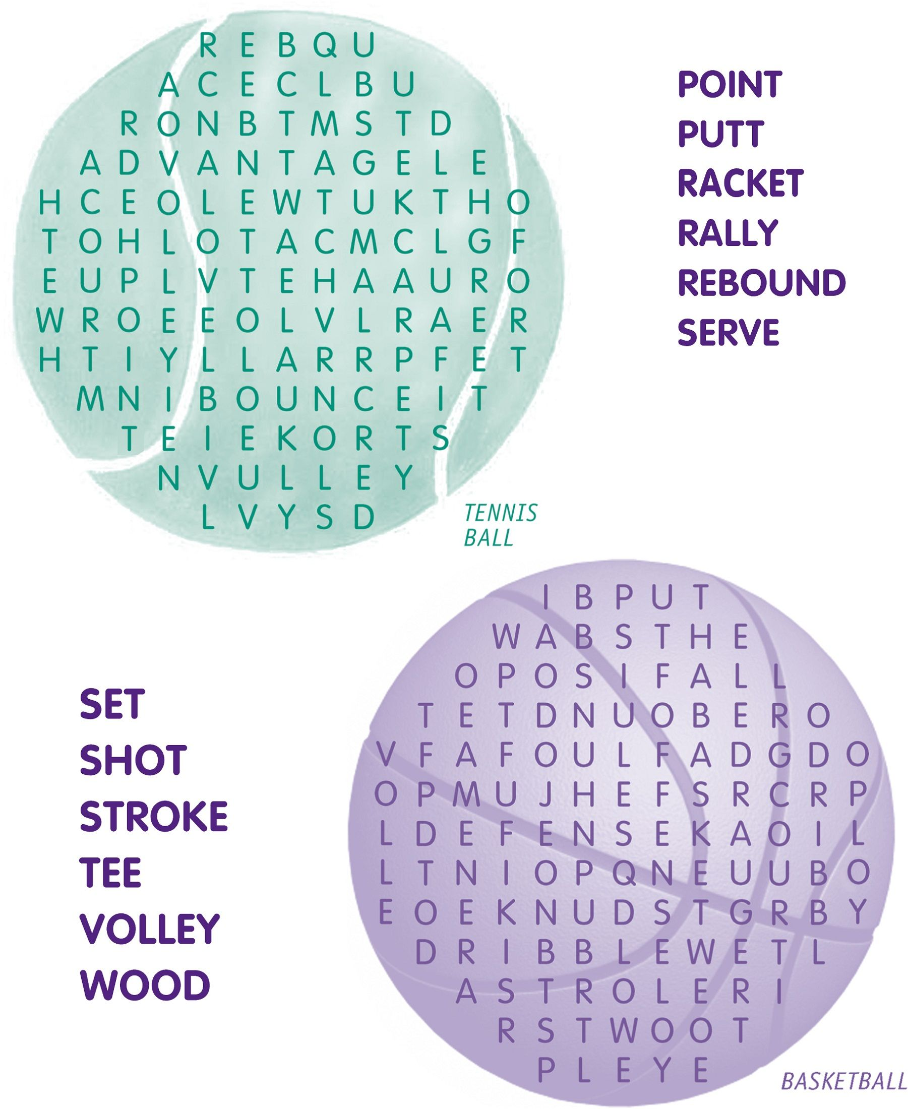 Basketball Word Search For Basketball Lovers