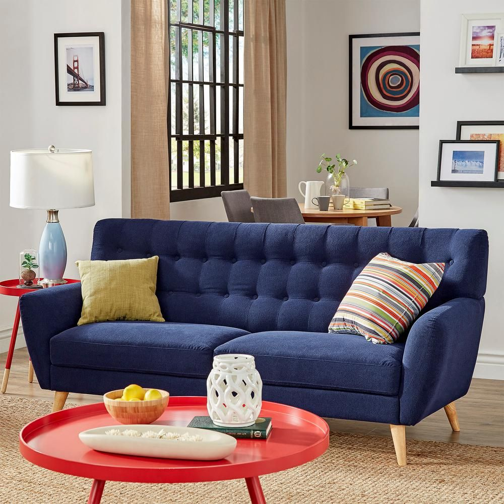 Surprising Baxton Studio Stapleton Beige Linen Sofa 28862 5161 Hd In Spiritservingveterans Wood Chair Design Ideas Spiritservingveteransorg