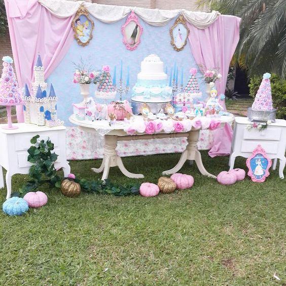 Fiesta infantil para niña con tema de cenicienta (31 | Pinterest ...