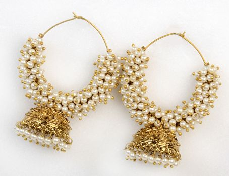 Indian traditional earrings designs