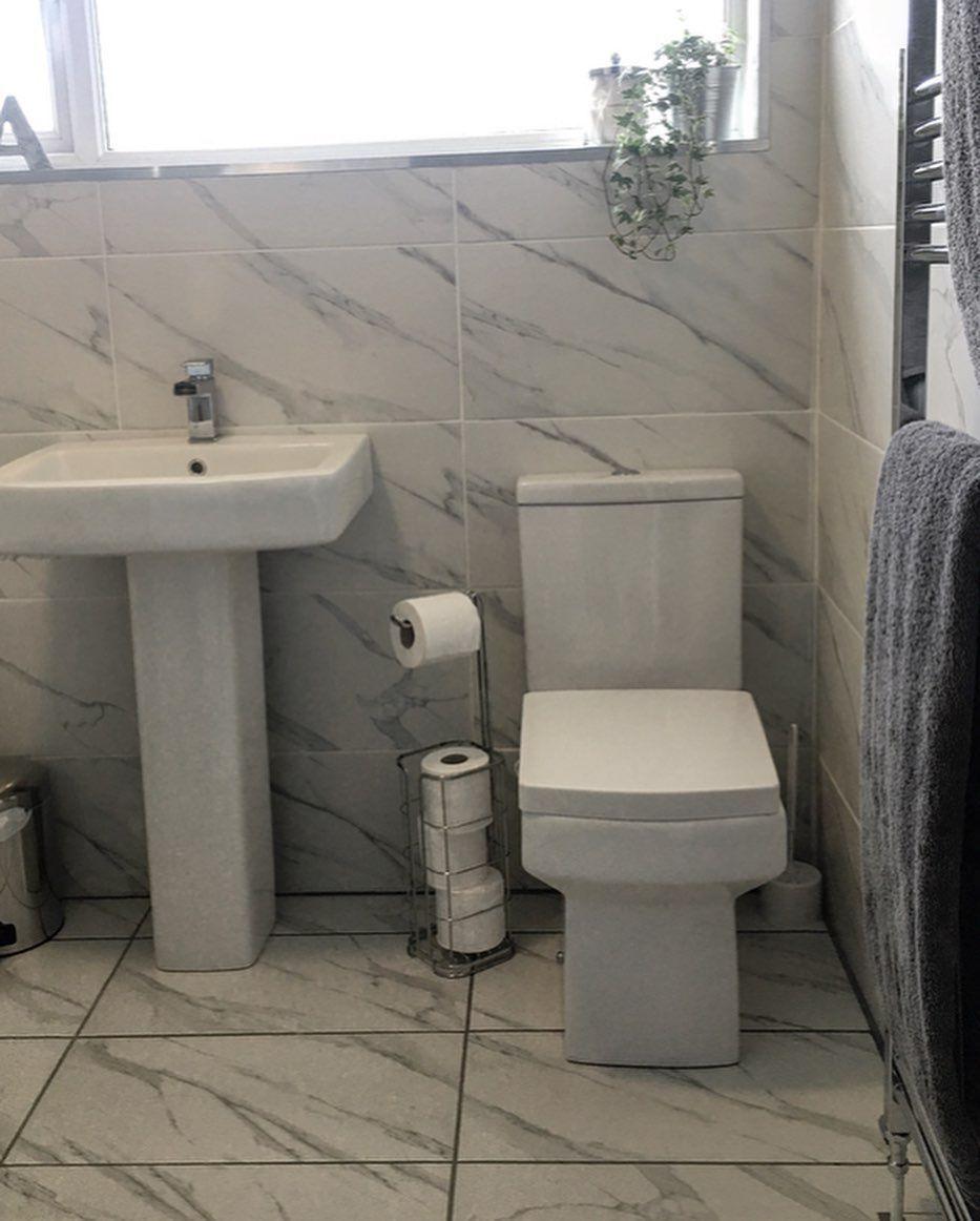 Affine Royan Cloakroom Suite Space saving toilet