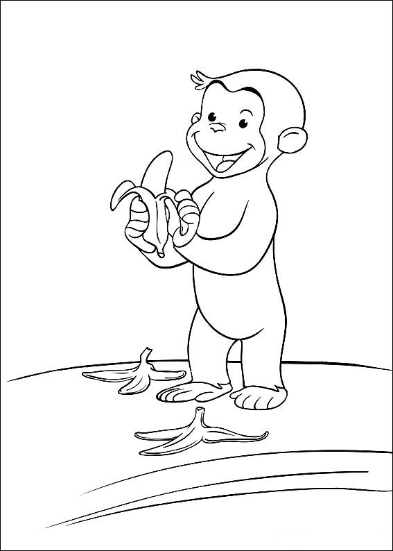 coco der neugierige affe 51 ausmalbilder für kinder