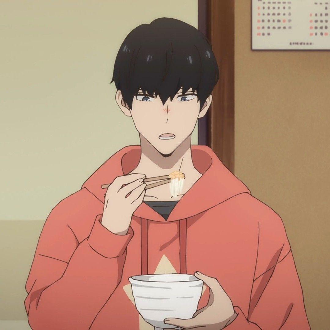 Daisuke Kanbe With His Hair Down In 2020 Anime Boyfriend Anime Boy Sketch Anime Baby