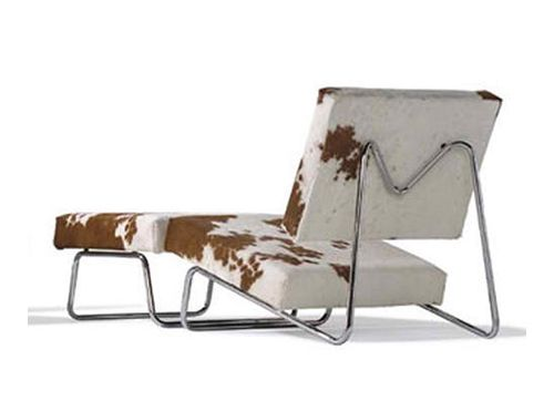 Cowhide Lounge Chair By Herbert Hirche Home Design Ideas