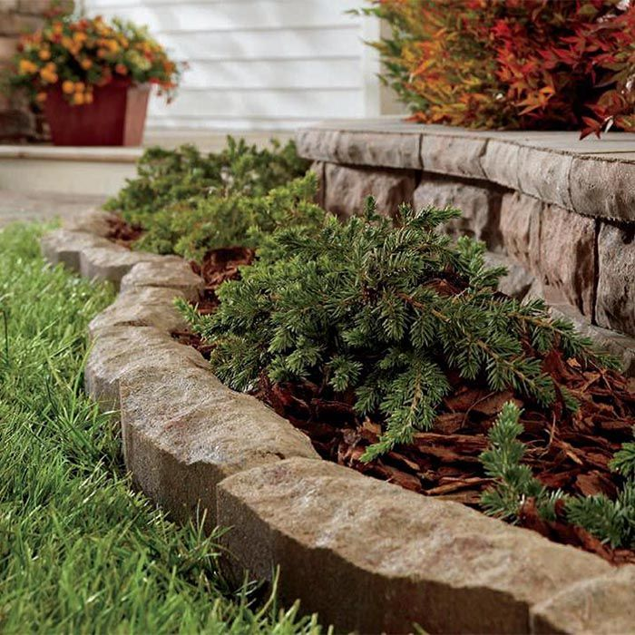 Landscape Edging Ideas Landscaping With Rocks Concrete Garden Edging Brick Garden Edging