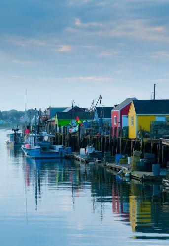 USA, Maine, Portland, Widgery Wharf