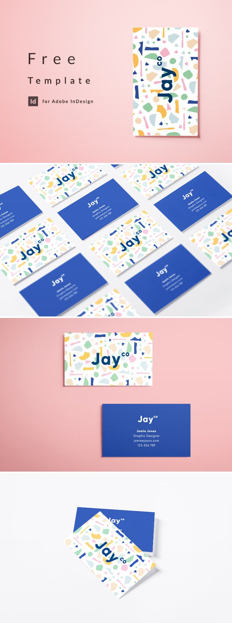 Indesign Business Card Template Free Download Free Business Card Templates Modern Business Cards Business Card Graphic