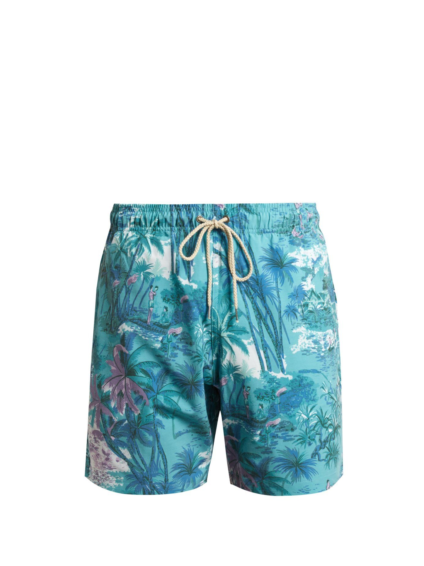 Click Here To Buy Faherty Beacon Swim Shorts At