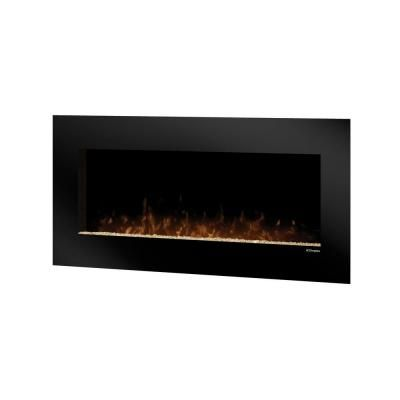 Dimplex Lacey 43 in Wall-Mount Electric Fireplace in Black