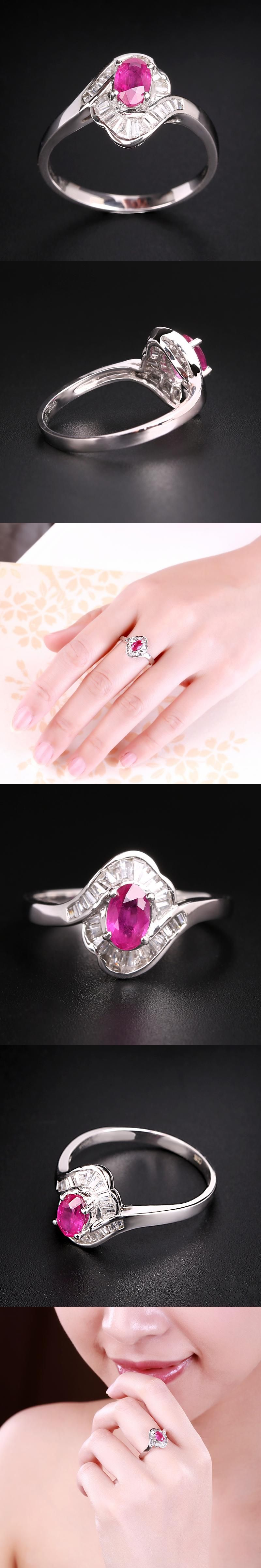 Robira Finger Ring 2017 Real New Arrival Round Shape Wedding Rings ...