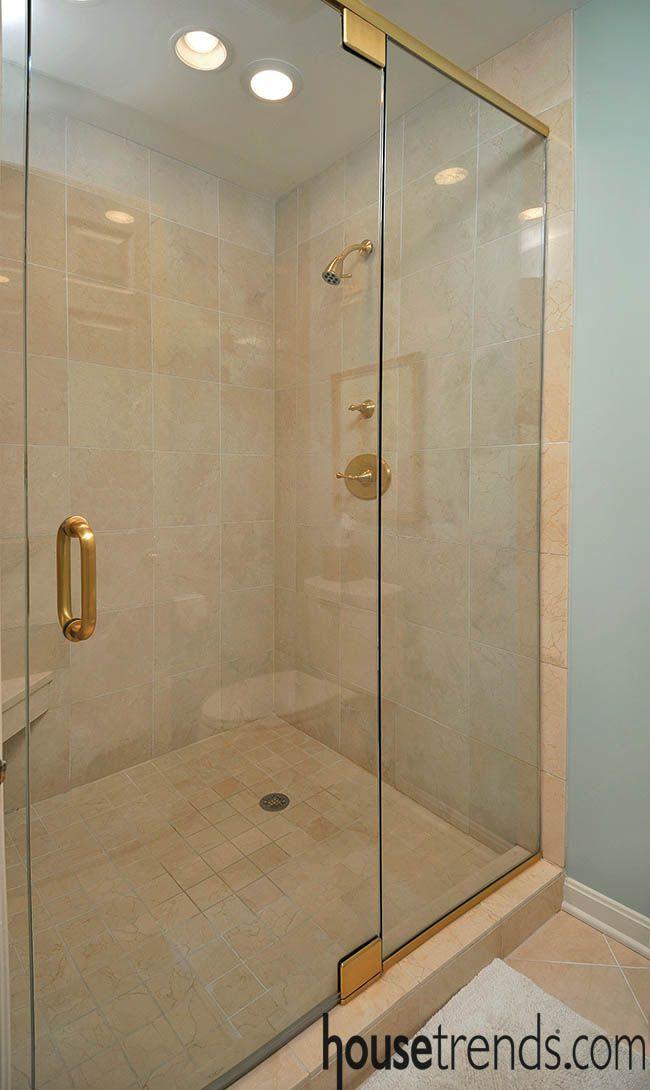 Glass Shower Doors Hide A Luxurious Retreat Bathroom Remodel Master Bathroom Remodel Cost Bathroom Renovations
