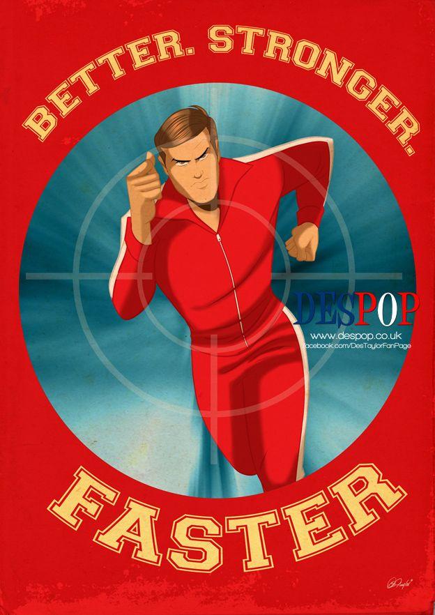 Steve Austin By Despop On Deviantart Comic Book Superheroes Steve Austin Bionic Woman