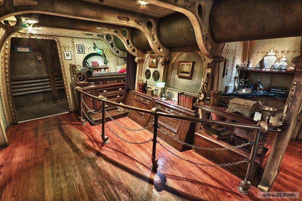 Captain Nemo S Submarine Interior Images Google Search