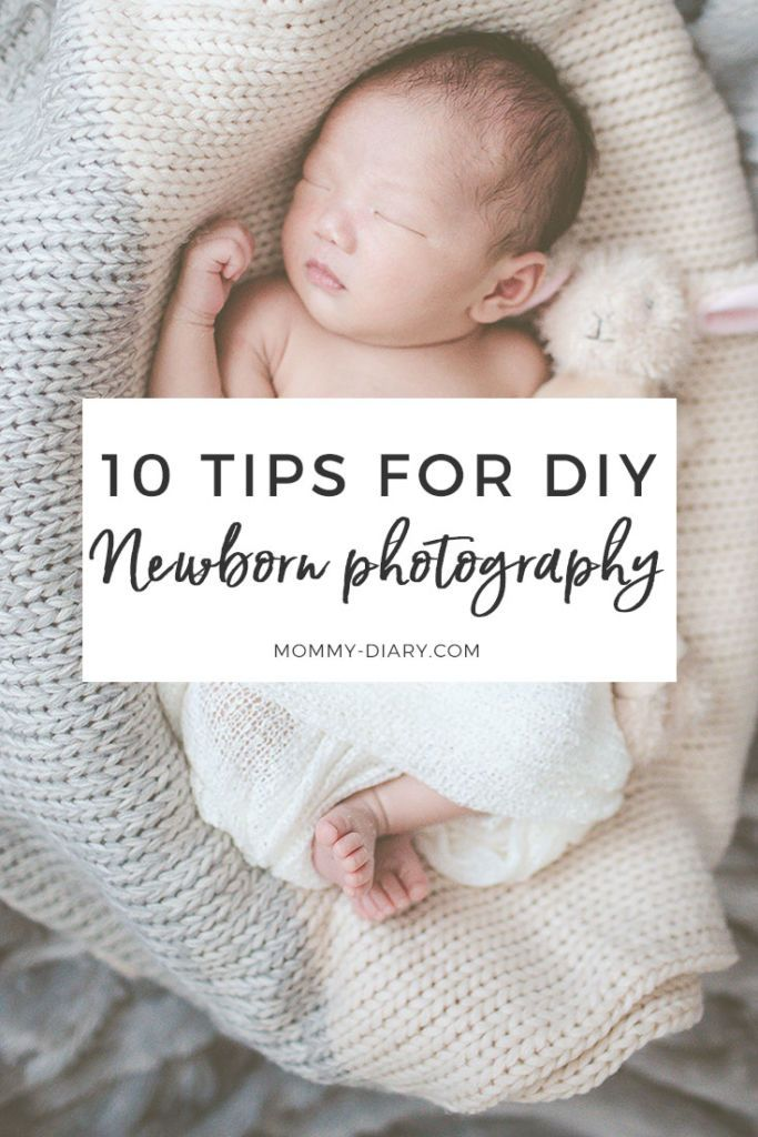 Diy Newborn Photography Pinterest