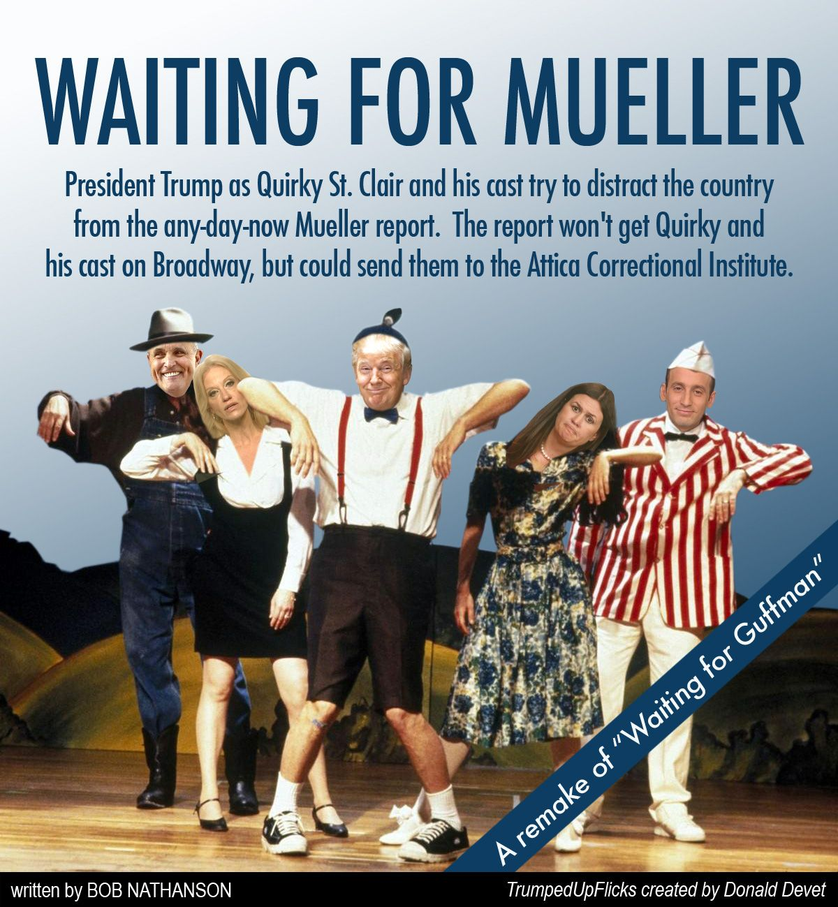Waiting for Mueller TrumpedUpFlicks It cast