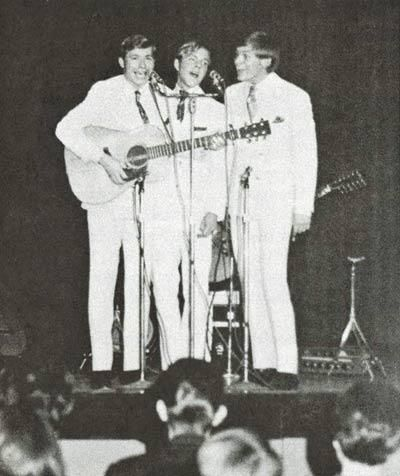 Michael Johnson, David Boise and John Denver circa 1968