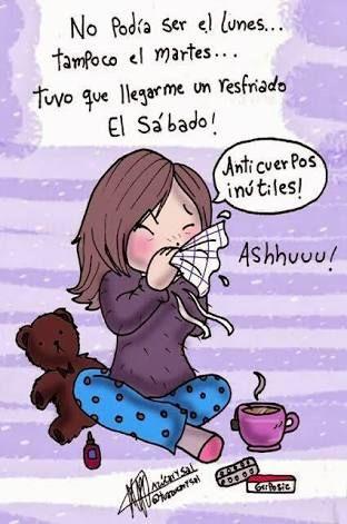 Resultado De Imagen Para Estoy Enferma De Gripe Imagenes De Enfermita Azucar Y Sal Enferma De Gripe