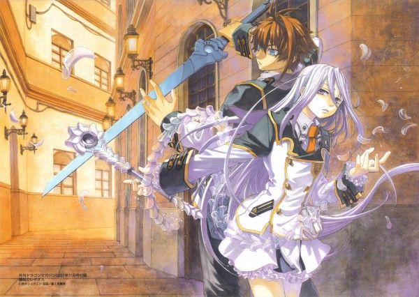 Tags: Anime, Chrome Shelled Regios, Felli, Leifon Alseif