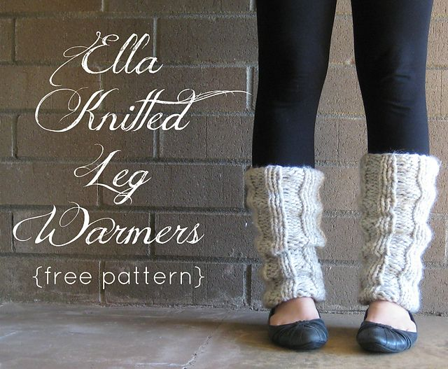 Ravelry: Ella Knitted Leg Warmers pattern by The Willow Nest | My ...