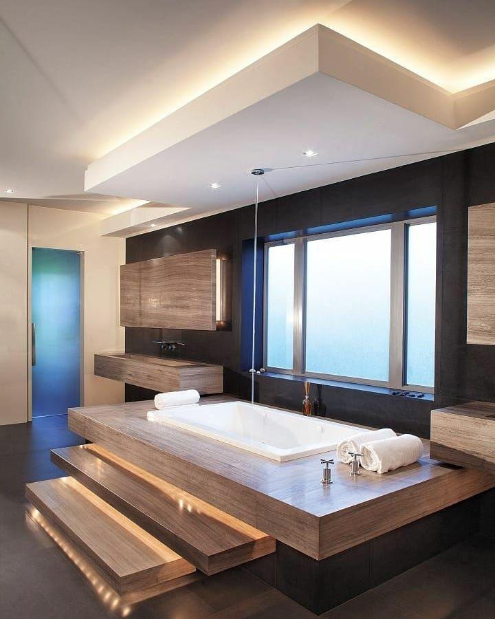 Modern Bathroom Homes Mansion Mansions Luxury Lifestyle Architecture Realestate Luxur Idee Salle De Bain Salle De Bains Moderne Salle De Bain Design