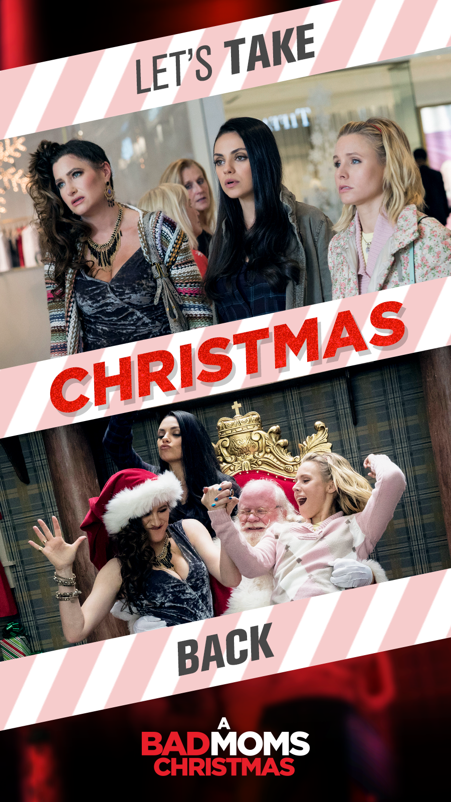 A Bad Moms Christmas Movie.These Bad Moms Are Ready To Take Back Christmas Are You
