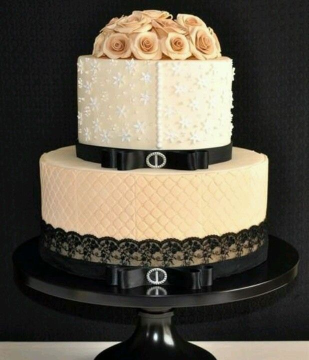 Vintage hat inspired cake | Cake decorating and party ideas ...