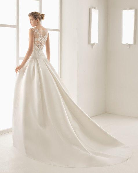 OPALINA vestido de novia Rosa Clará Two 2017