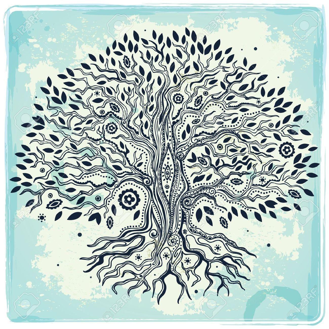 albero della vita da disegnare
